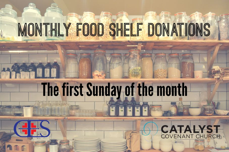 Monthly Food Shelf Donations