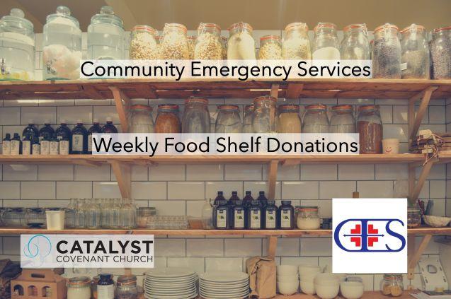CES Food Shelf Donations